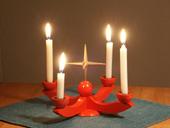 4.AdventKerzen